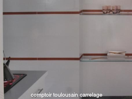 Carrelage en ligne faiences cuisine sanitaire toulouse paris for Carrelage 20x40 blanc